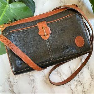 Vintage Liz Claiborne Collection Leather Crossbody